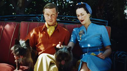 Os duques de Windsor, Eduardo VIII e Wallis Simpson, em uma imagem dos anos 40
