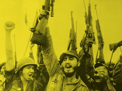 Imagem do documentário 'Rebeldes de Sierra Maestra' (1957).
