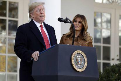 O presidente dos EUA, Donald Trump, na Casa Branca na última terça-feira.
