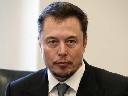 Elon Musk, em uma foto de dezembro.