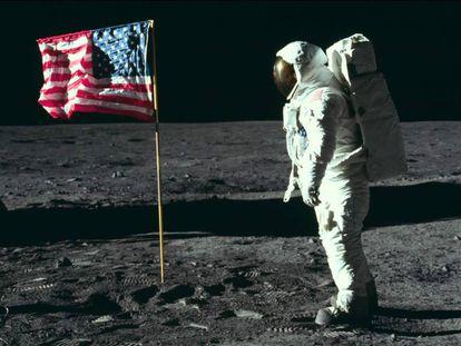 Fotograma de 'Apollo 11', documentário de Todd Douglas Miller.