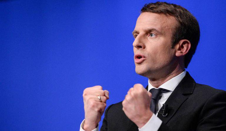 Emmanuel Macron, em uma foto de 11 de abril.