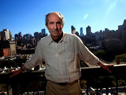 Philip Roth em Nova York em setembro de 2010. O escritor nascido em Nova Jersey em 1933 definiu a literatura norte-americana da segunda metade do século XX com obras como 'Complexo de Portnoy','Casei com um comunista', ou 'Complô contra a América'