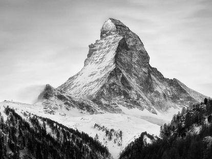 Retrato do monte Matterhorn