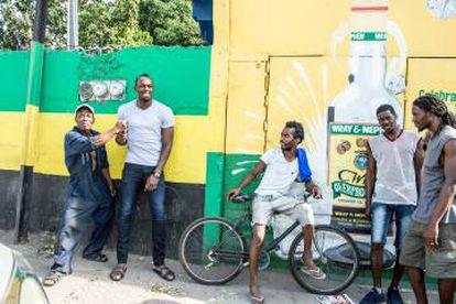 Na Jamaica, Bolt é um ícone.