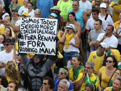 Protesto no Rio em dezembro passado.