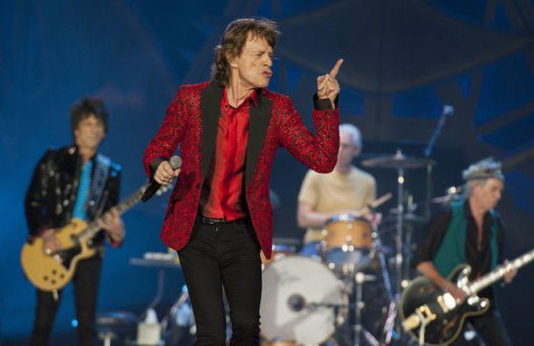 Ronnie Wood, Mick Jagger, Charlie Watts e Keith Richards: de volta ao Brasil após anos de espera.