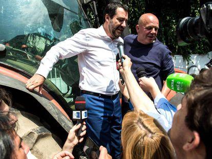 O líder da Liga, Matteo Salvini.