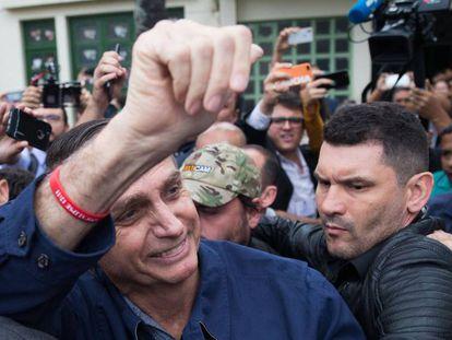 Bolsonaro no último dia 7 de outubro.