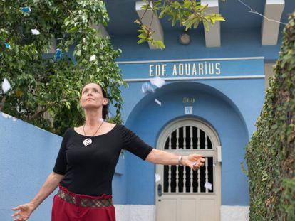 Cena de 'Aquarius' com Sônia Braga.
