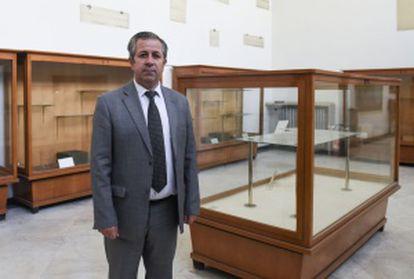 Maamoun Abdulkarim, diretor-geral de Antiguidades e Museus na Síria.