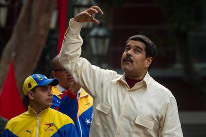 Nicolás Maduro, durante o Congresso da Pátria
