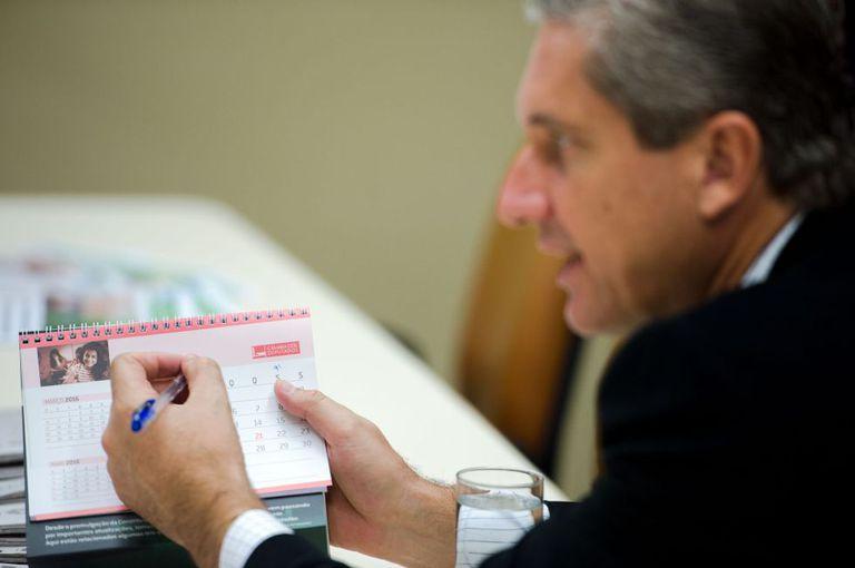 Deputado Rogério Rosso, presidente da Comissão Especial do Impeachment.