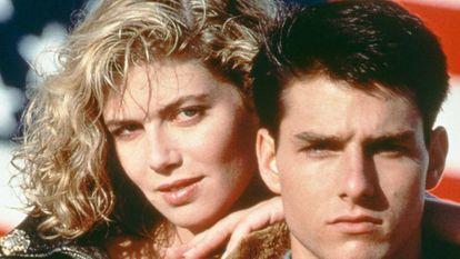 Kelly McGillis e Tom Cruise formaram uma das duplas mais reconhecíveis do cinema da década de oitenta graças a 'Top Gun'