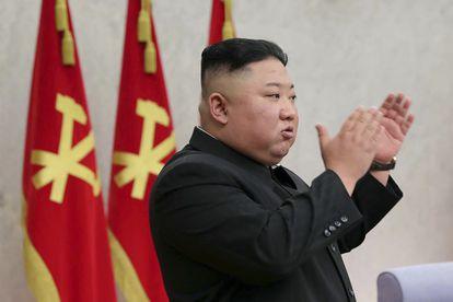Kim Jong-un, durante uma reunião do Comitê Central do Partido dos Trabalhadores da Coreia, nesta segunda-feira em Pyongyang.