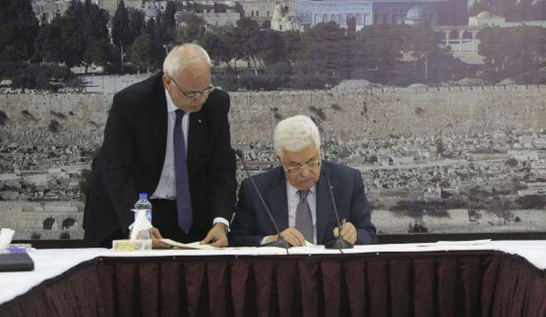 Abbas assina na quarta-feira a adesão a 23 organizações.