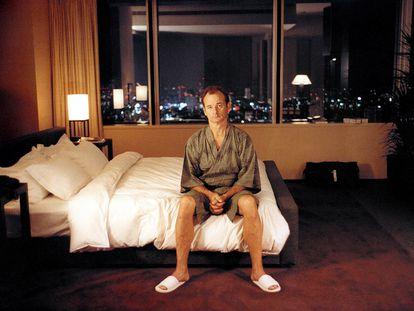 Bill Murray em uma imagem promocional de 'Encontros e Desencontros'.
