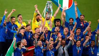 Wembley não assusta a Itália, que derrota a Inglaterra nos pênaltis e se consagra campeã da Eurocopa   Esportes   EL PAÍS Brasil