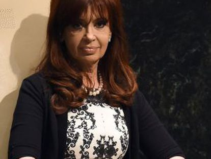 Cristina Kirchner, em setembro.