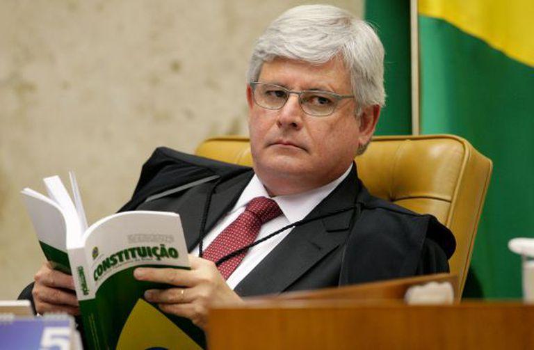 Rodrigo Janot em sessão plenária em maio.