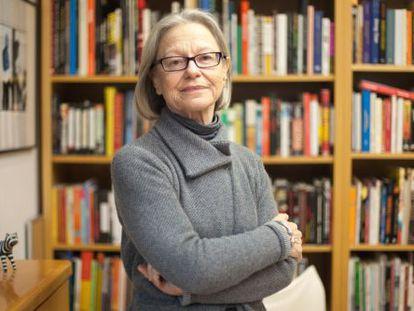 A jornalista brasileira Dorrit Harazim.