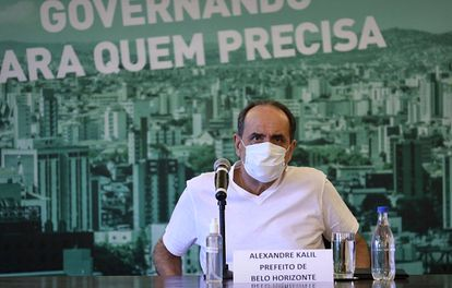 Kalil anuncia fechamento do comércio em Belo Horizonte.