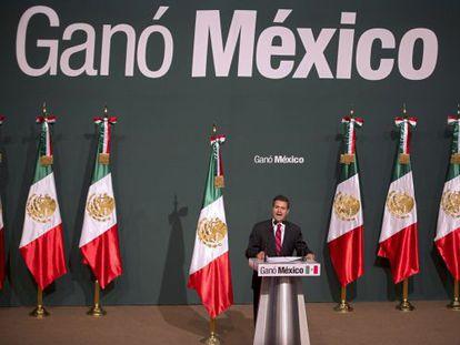 O presidente mexicano, Enrique Peña Nieto.