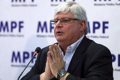 O procurador Rodrigo Janot.