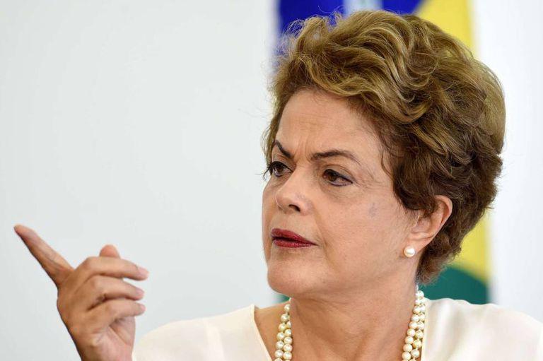 Dilma, em evento em Brasília no último dia 18.
