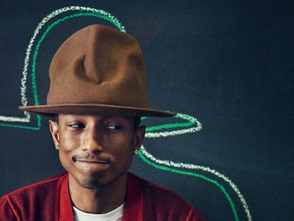 As duas caras de Pharrell Williams