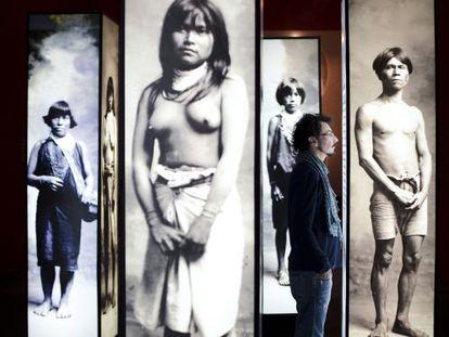 Francois Laso, curador da exposição.