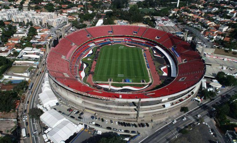 O São Paulo deixou o estádio e complexo social do Morumbi, ao lado do Hospital Albert Einstein, à disposição das autoridades.