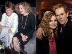 """Pouco depois de completarem 20 anos de casamento, Kevin Bacon e Kyra Sedgwick ficaram sabendo que tinham perdido parte de suas economias com o escândalo de Bernie Madoff. """"Então Kyra e eu nos olhamos e dissemos: estamos apaixonados, nossos filhos são saudáveis e trabalhamos duro para conseguir tudo. Continuaremos trabalhando duro. É só dinheiro. Os atores se casaram em 1988 e têm dois filhos."""