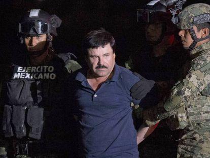 Joaquín Guzmán Loera, o El Chapo.