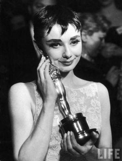 Audrey Hepburn ganhou o Oscar como protagonista de 'A princesa e o plebeu'.