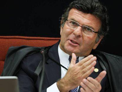 O ministro do STF Luiz Fux.