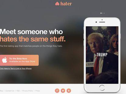 Selecionar o que você detesta é o mais divertido do Hater, o 'Tinder do ódio'