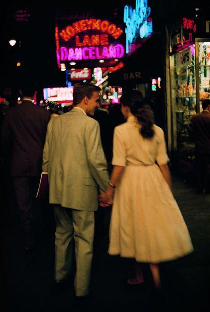 Nova York em 1957, segundo Brassaï.