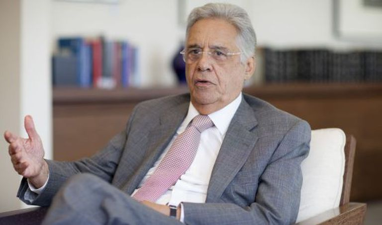 O ex-presidente Fernando Henrique Cardoso.