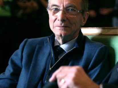 Gérard Mortier, que morreu em seu apartamento em Bruxelas.