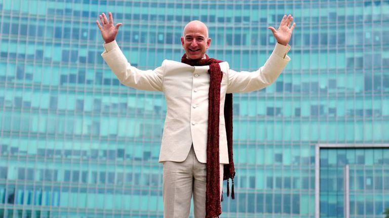 Jeff Bezos, fundador da Amazon