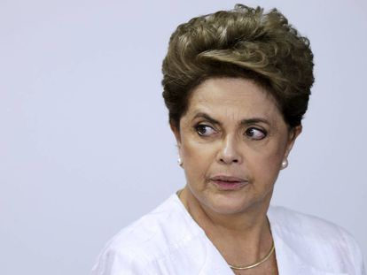 Dilma Rousseff, no último dia 15.