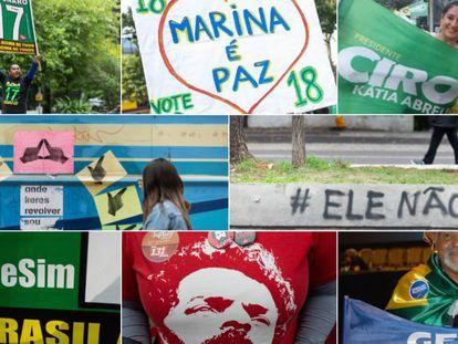 Brasil vai às urnas guiado pelo ódio ao PT e o medo de Bolsonaro