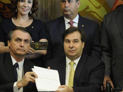O ex-presidente brasileiro Michel Temer em uma imagem de 2018. / Em vídeo: a perseguição do ex-presidente.