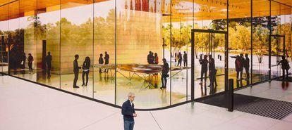 Tim Cook, da Apple, explica como é a nova sede da empresa