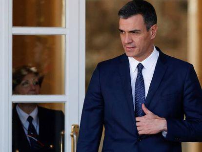Pedro Sánchez nesta quinta-feira