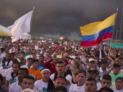 Participantes da última conferência revolucionária das FARC