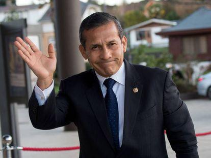 Ollanta Humala, em junho passado em Santiago do Chile.