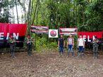 Liberación de tres militares secuestrados por el ELN en Arauca, en septiembre de 2018.