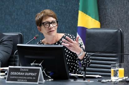 A procuradora federal dos Direitos do Cidadão, Deborah Duprat.